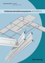 Unterkonstruktionssysteme 2013/2014