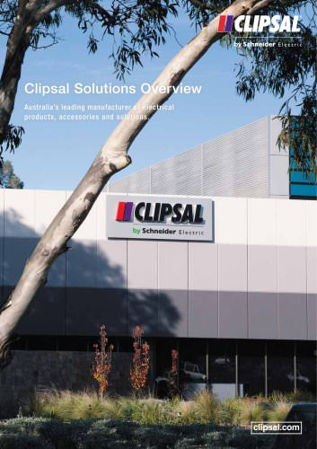 Clipsal Solutions Overview