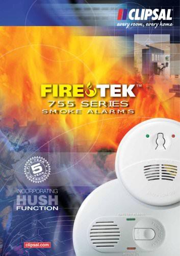 Firetek 755 Series Smoke Alarms