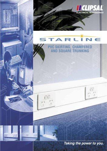 Starline PVC Skirting Chamfered