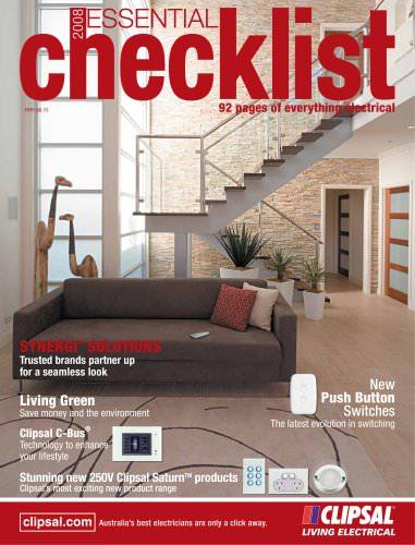 The essential checklist