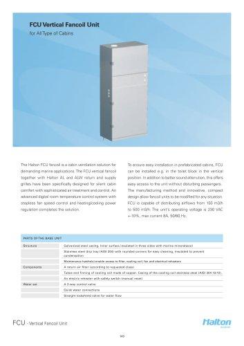 FCU Vertical Fancoil Unit