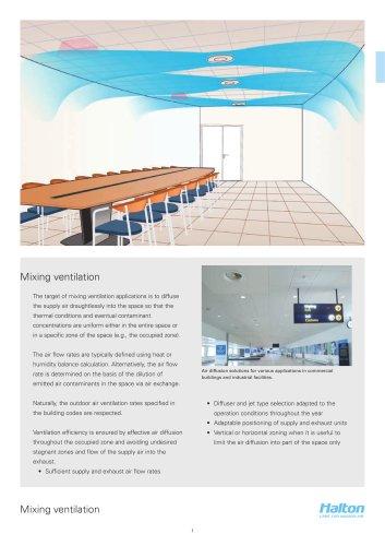 Halton - air diffusion design guide