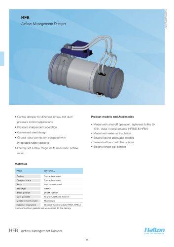 HFB - Airflow Management Damper