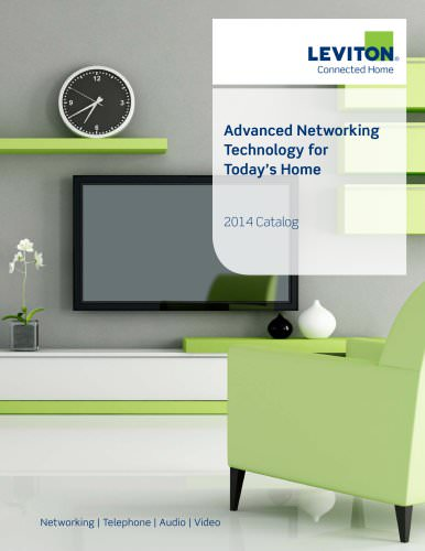 Connected Home Catalog 2014