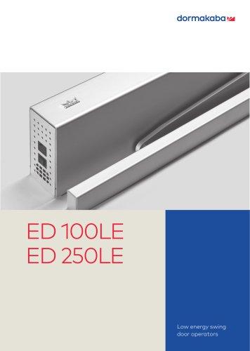 ED 100LE - ED 250LE