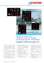 Digitale Außenanzeigen DT - 1