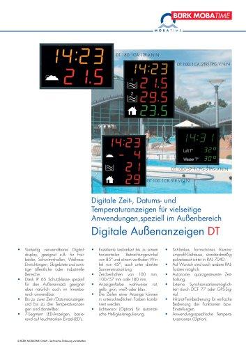 Digitale Außenanzeigen DT
