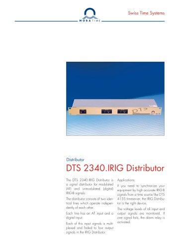 DTS 2340.IRIG Distributor