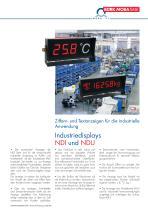 Industriedisplays NDI und NDU - 1