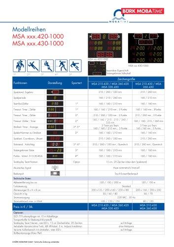 MSA xxx.420-1000