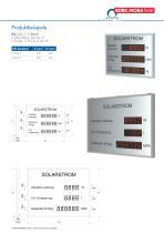 Photovoltaik-Anzeigen Modellreihe DSI/DSO - 5