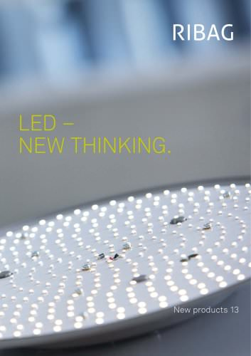 LED - New Thinking. New products 13