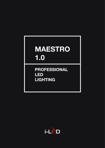 MAESTRO Professional Lighting