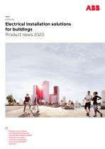 Electrical installation solutions for buildings Product news 2020