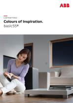 LIGHTSWITCHES Colours of inspiration. basic55®