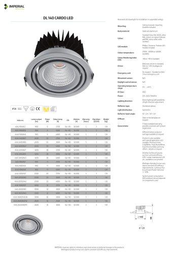 DL 140 CARDO LED
