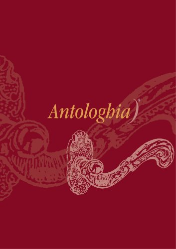 CATALOGUE ANTOLOGHIA