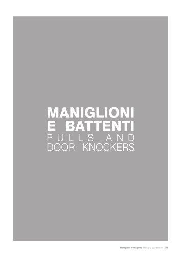 Maniglioni - Pulls