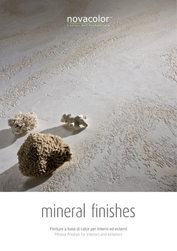 MINERAL FINISHES
