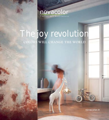 The joy revolution, colors will change the world