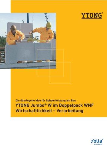 YTONG Jumbo® W im Doppelpack WNF