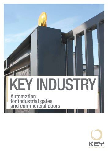 Automation for industrial gates and commercial doors
