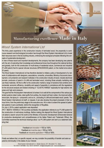 Manufacturing excellence Made in Italy