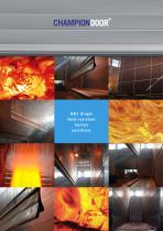 Champion Door NK1 Single  Heat-resistant factory partitions