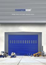 Hangar doors and Large industrial doors