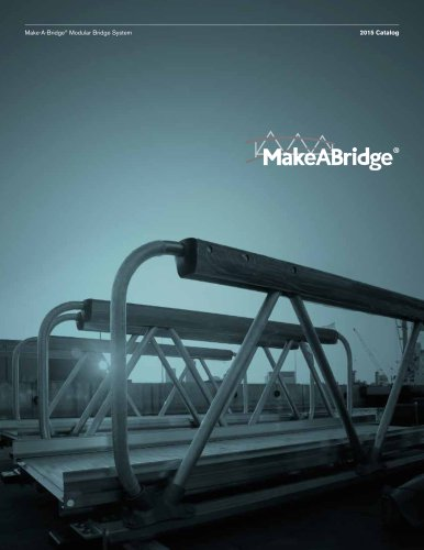 Make-A-Bridge® Catalog - Modular Pedestrian Bridge System