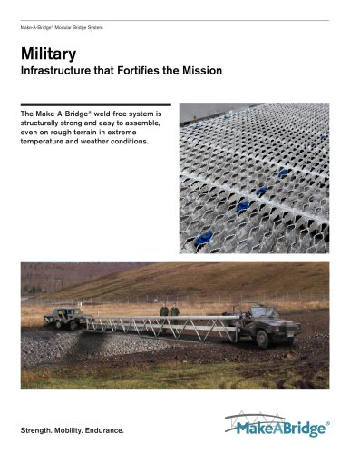 Make-A-Bridge® Modular Bridge - Military