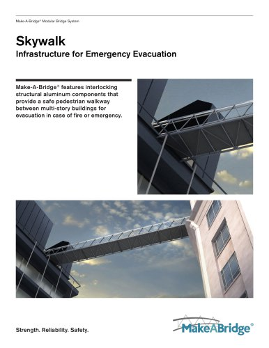 Make-A-Bridge® Modular Bridge - Skywalk