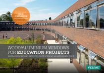 WOOD/ALUMINIUM WINDOWS FOR EDUCATION PROJECTS