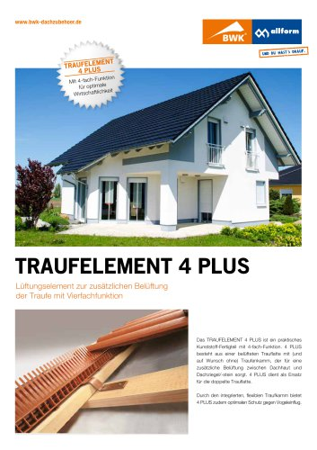 Traufelement 4Plus