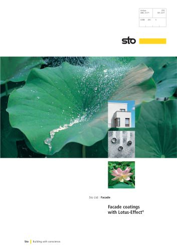 Lotus-Effect® Coatings