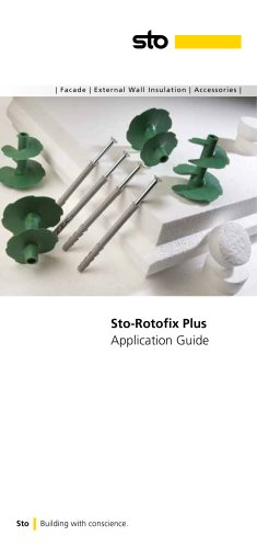 Sto-Rotofix Plus Application Guide