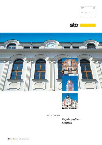 StoDeco Facade Profiles