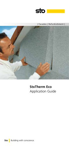 StxTherm Eco Application Guide