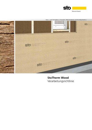 Verarbeitungsrichtlinie StoTherm Wood