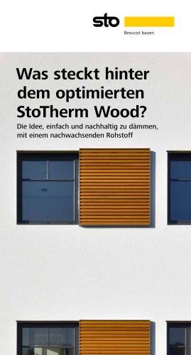 Was steckt hinter dem optimierten StoTherm Wood?