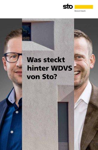 Was steckt hinter WDVS von Sto?
