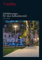 Lichtlösungen für den Außenbereich 2015/2016