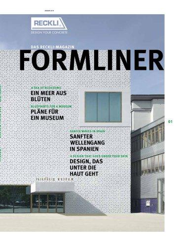 "RECKLI-Magazine ""Formliner"""