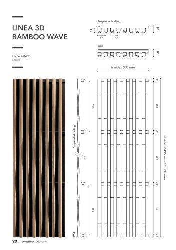 LINEA 3D BAMBOO WAVE