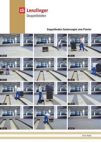 Prospekt Doppelboden-Sanierung