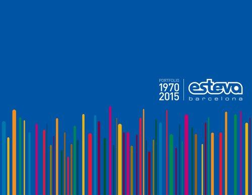 ESTEVA. Portfolio 1970-2015