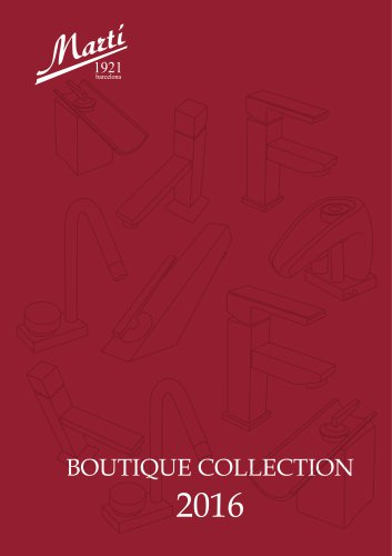 Boutique collection 2016