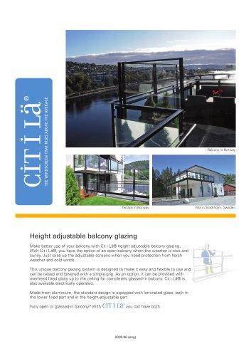 Cit i Lä - Balcony Glazing