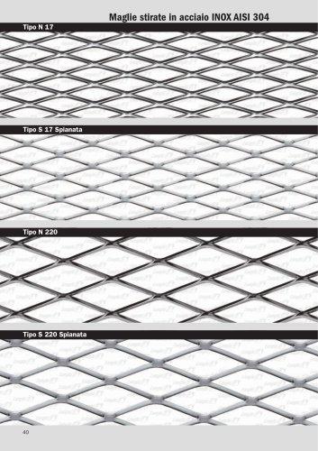 Diamond mesh AISI 304